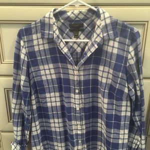Jcrew button down plaid shirt